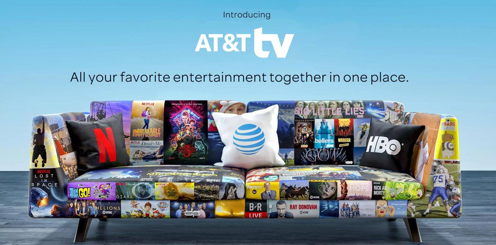 Introducing AT&T TV - All Your Favorite Entertainment Together In One Place